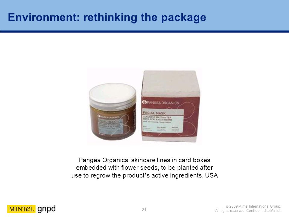Environment: rethinking the package