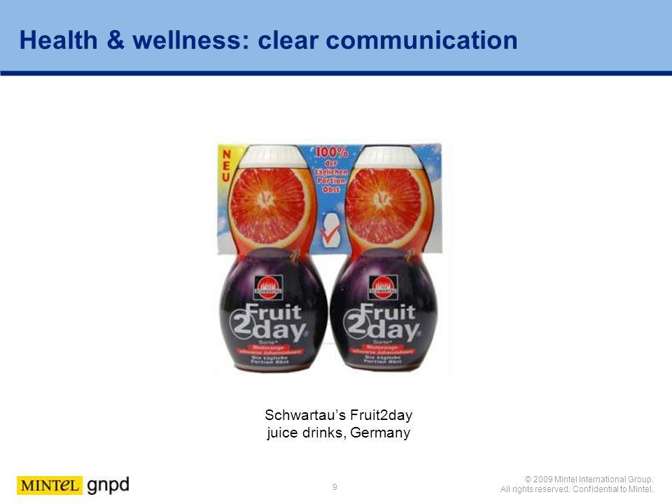 Schwartau's Fruit2day juice drinks, Germany