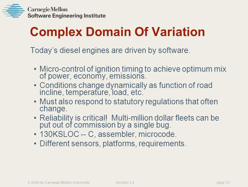 Complex Domain Of Variation