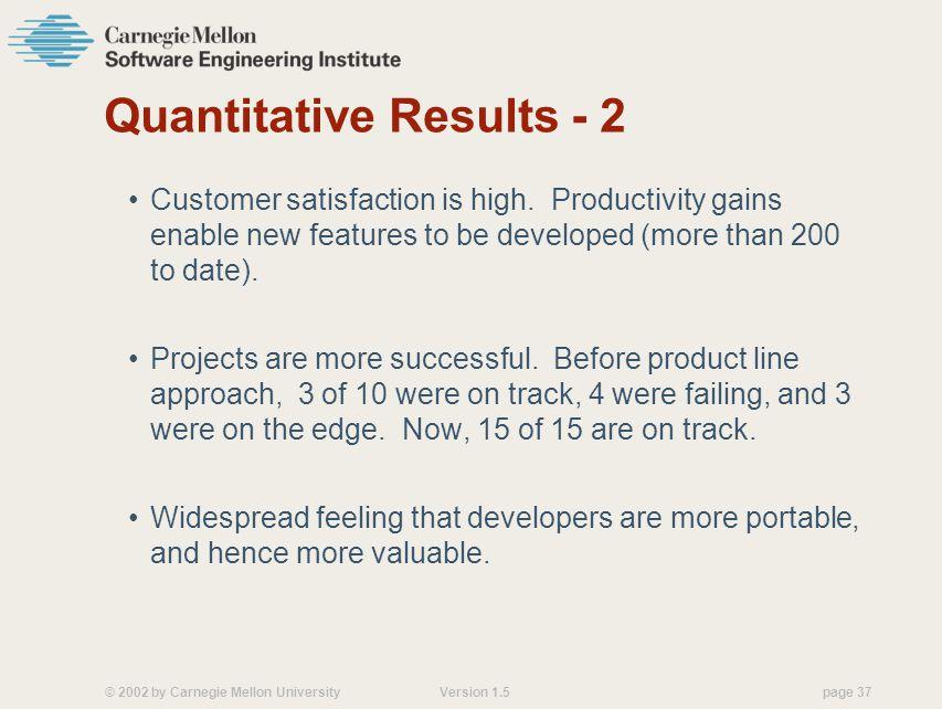 Quantitative Results - 2