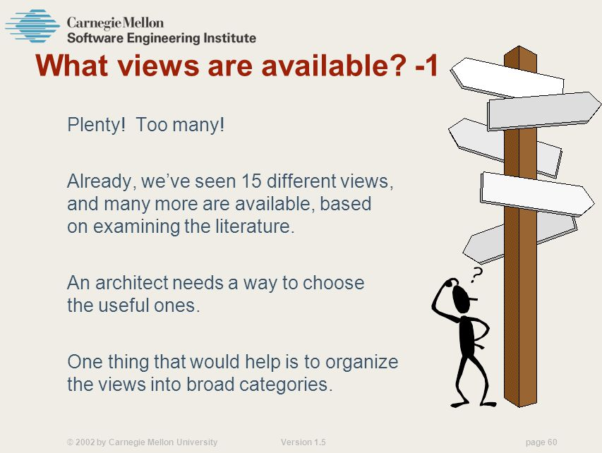 What views are available -1