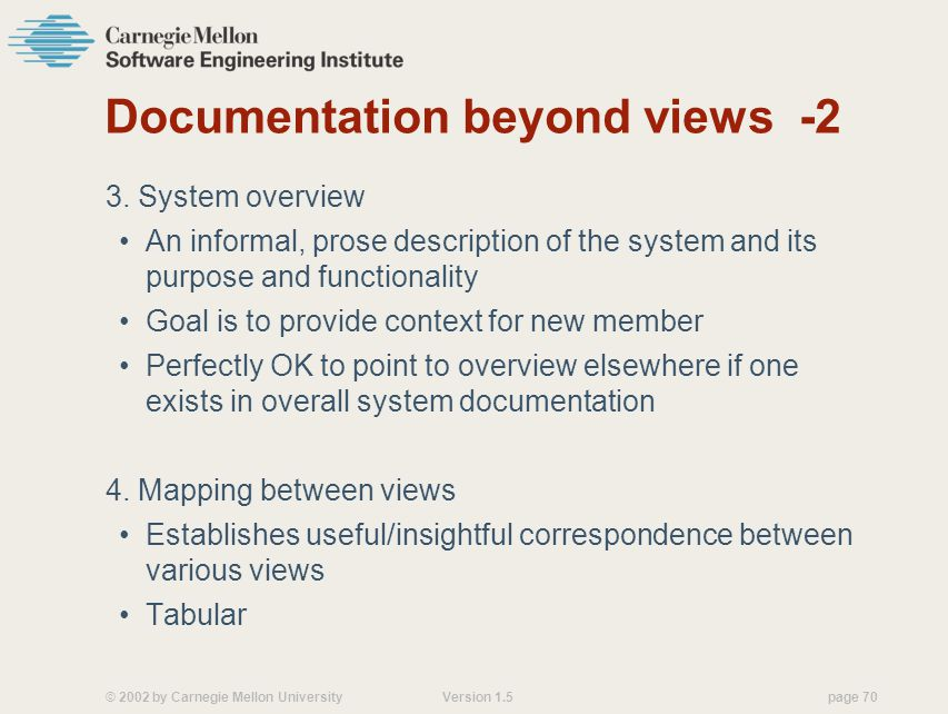 Documentation beyond views -2