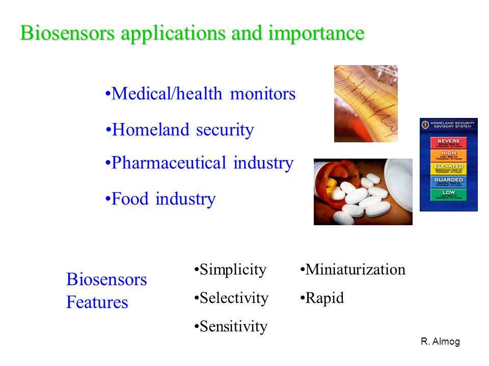 Biosensors applications and importance