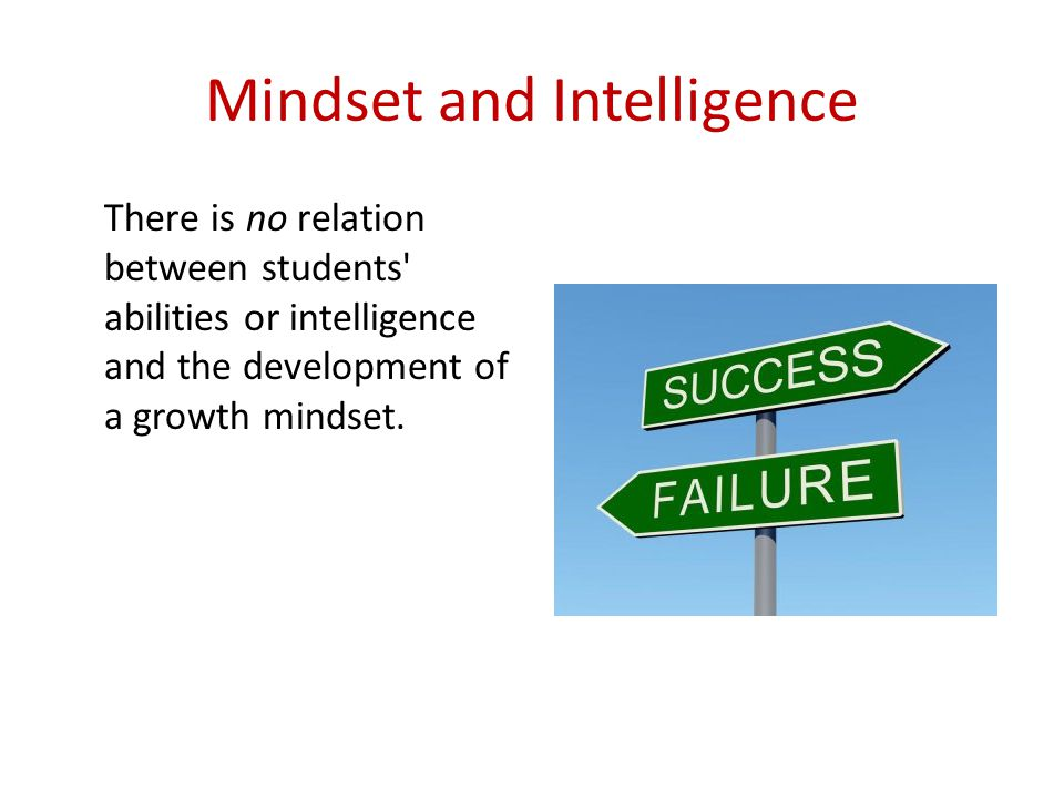 Mindset and Intelligence