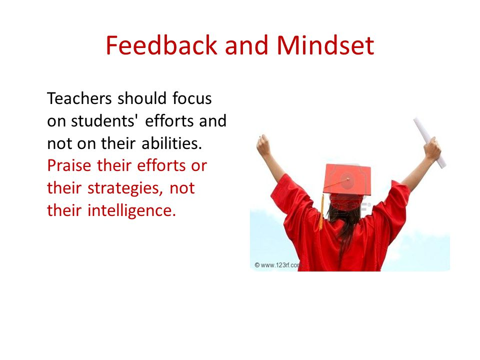 Feedback and Mindset