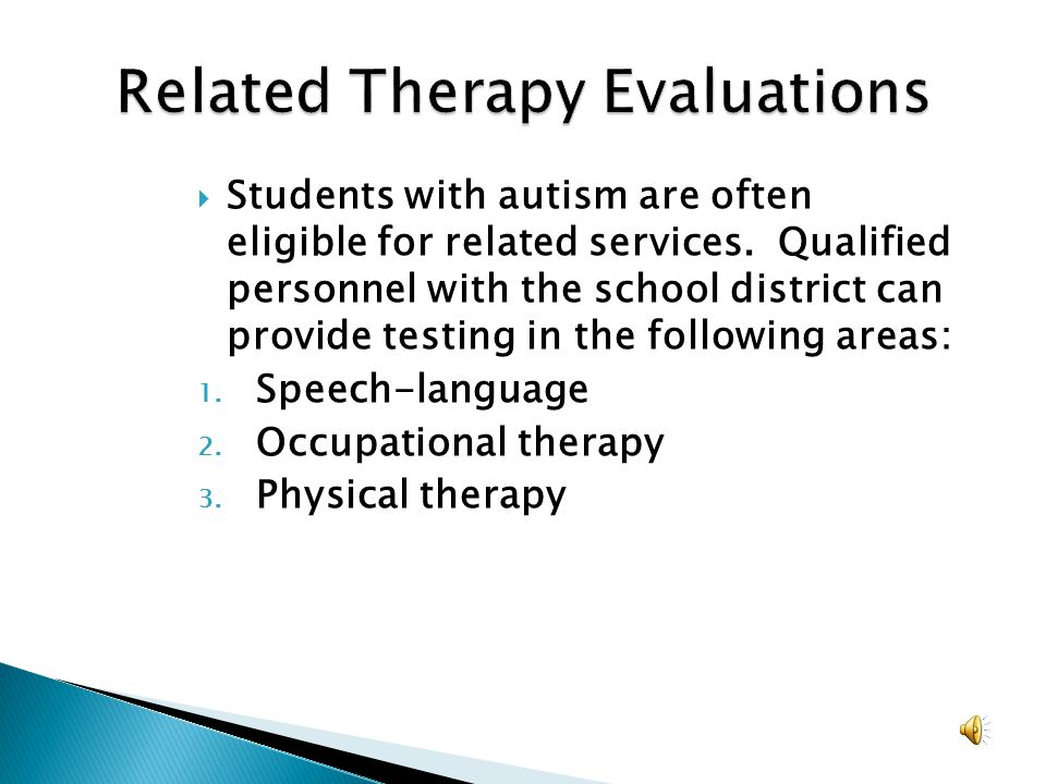 Related Therapy Evaluations