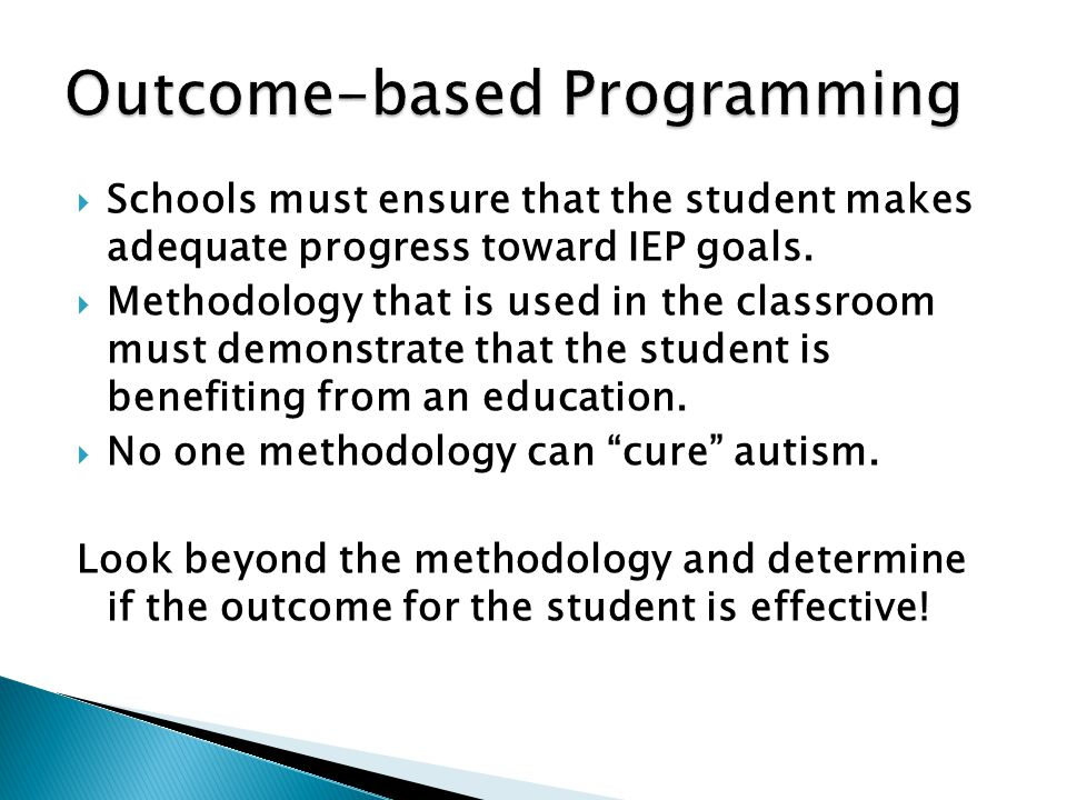 Outcome-based Programming