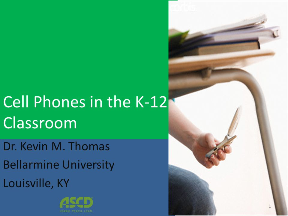 Cell Phones in the K-12 Classroom