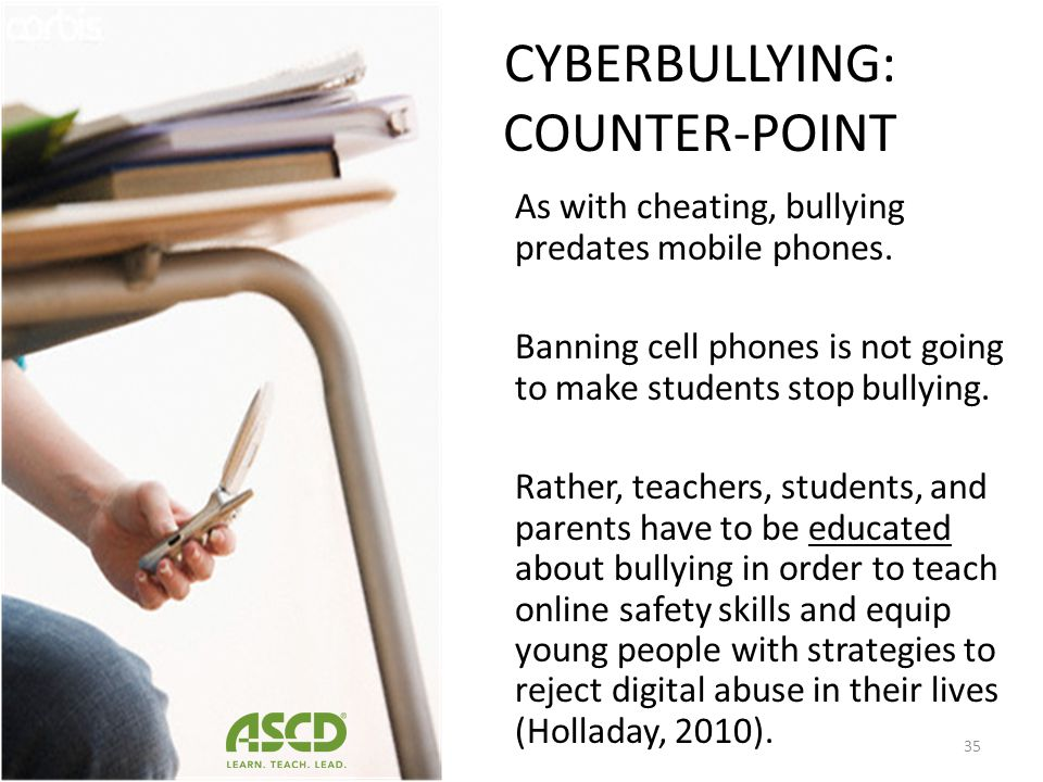 CYBERBULLYING: COUNTER-POINT