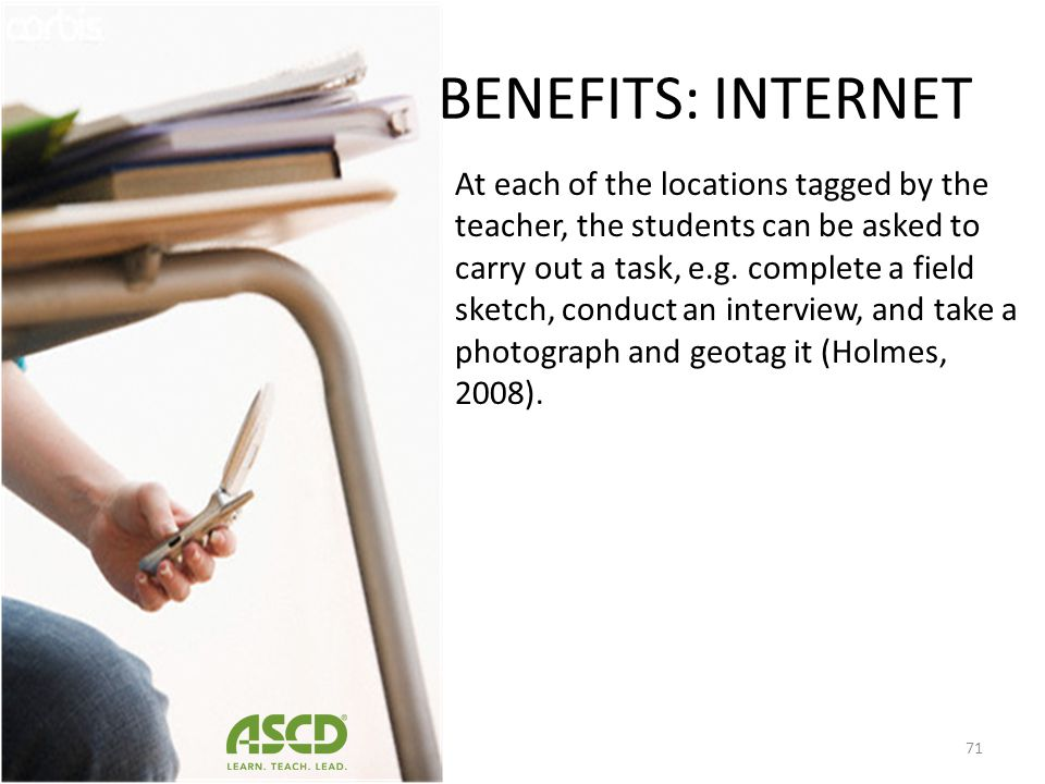 BENEFITS: INTERNET