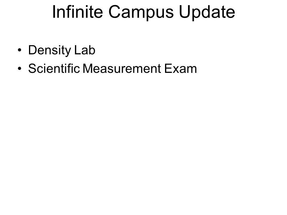 Infinite Campus Update