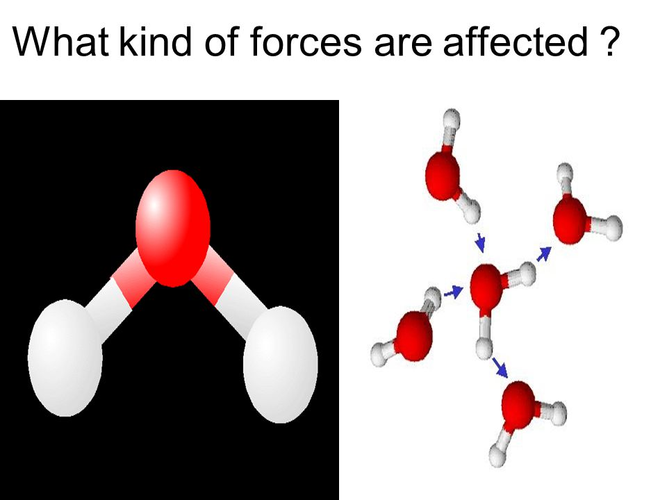 What kind of forces are affected