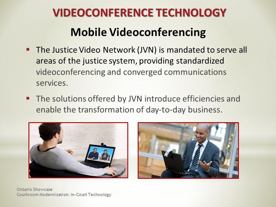 VIDEOCONFERENCE TECHNOLOGY