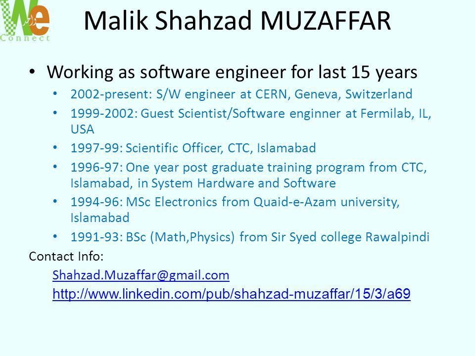 Malik Shahzad MUZAFFAR