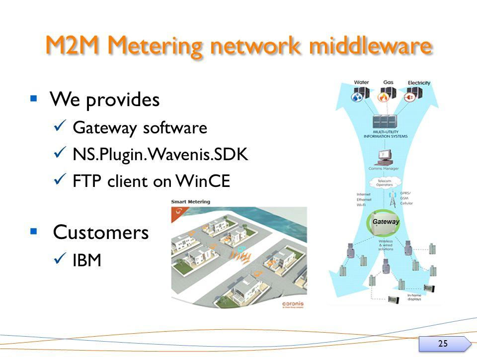 M2M Metering network middleware