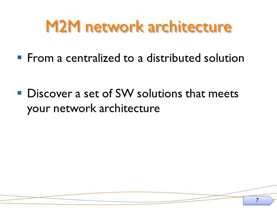 M2M network architecture