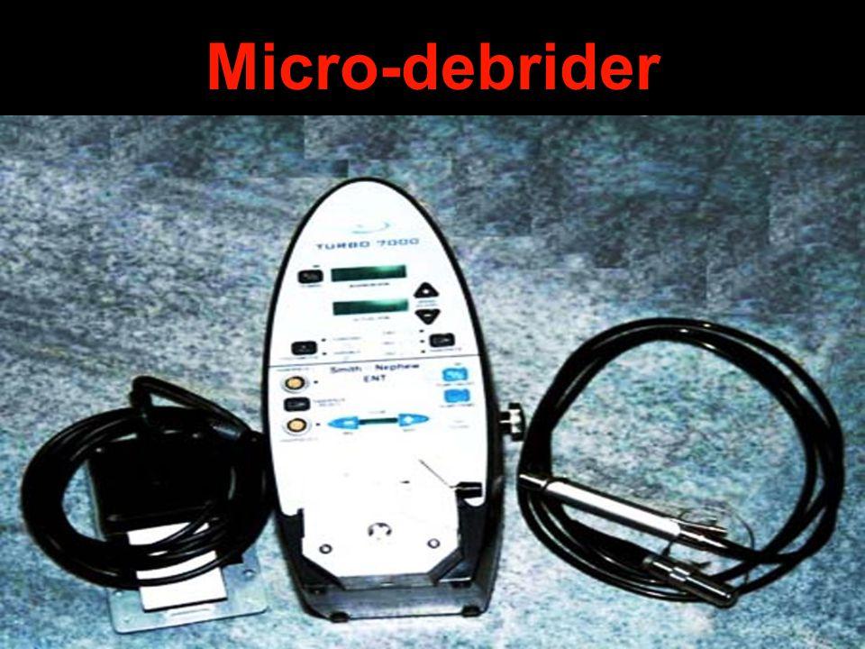 Micro-debrider