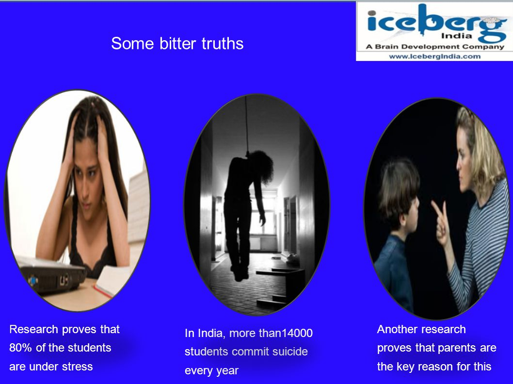 Some bitter truths Research proves that 80% of the students