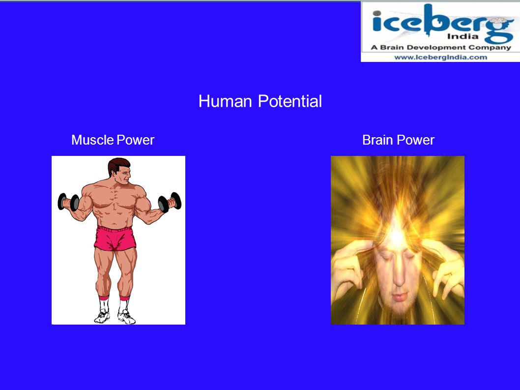 Human Potential Muscle Power Brain Power
