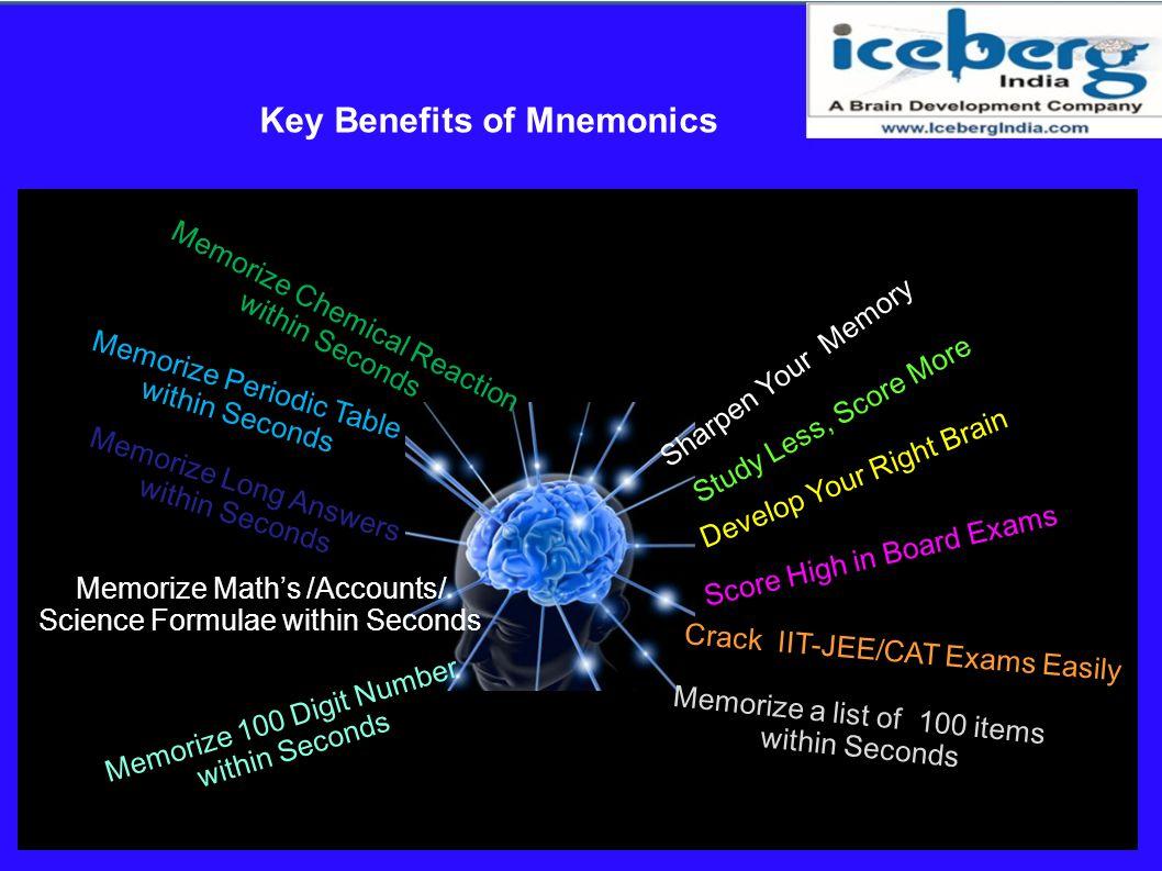 Key Benefits of Mnemonics