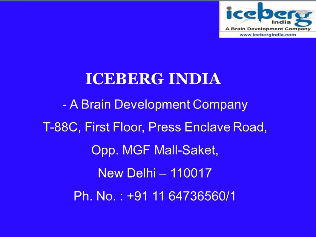 ICEBERG INDIA - A Brain Development Company