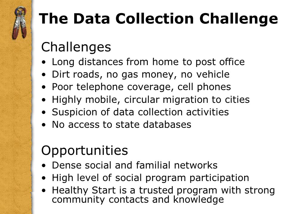 The Data Collection Challenge