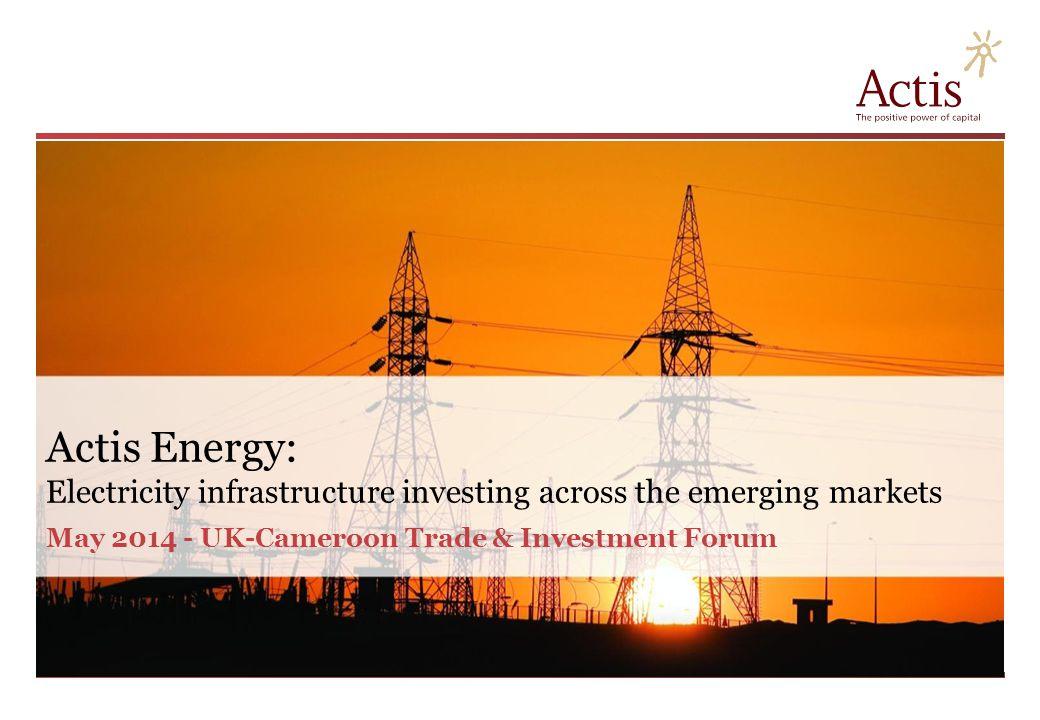Actis: Emerging markets specialist