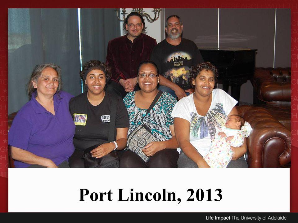 Port Lincoln, 2013