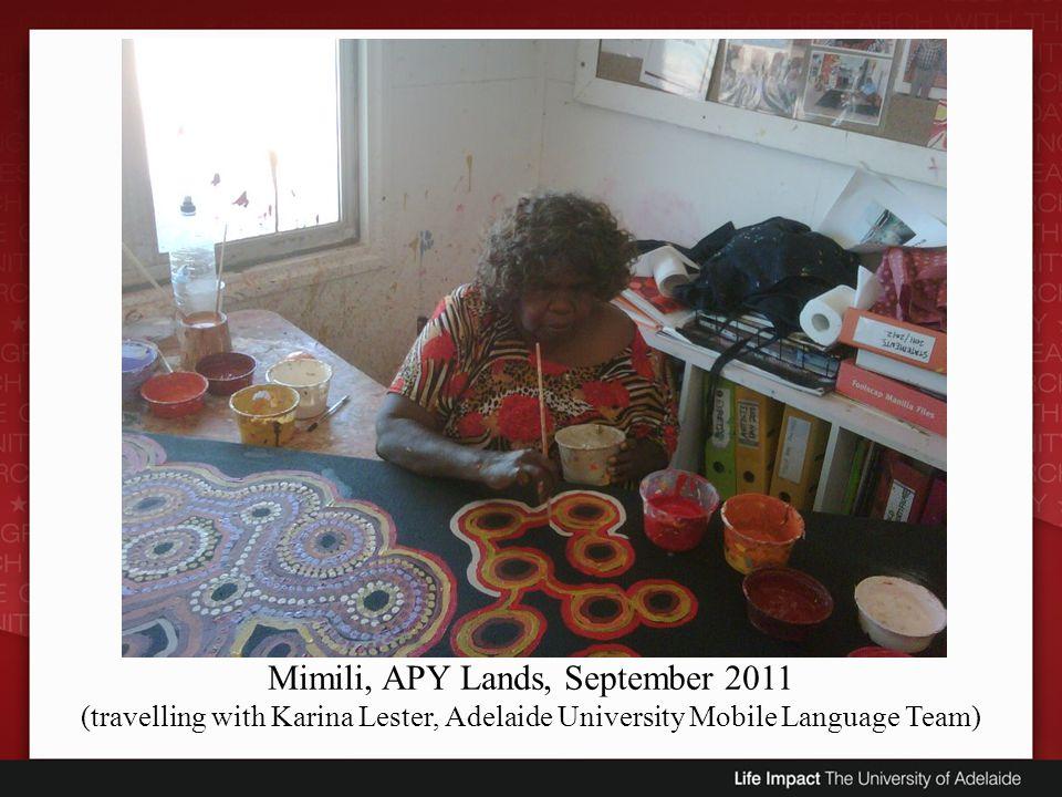 Mimili, APY Lands, September 2011
