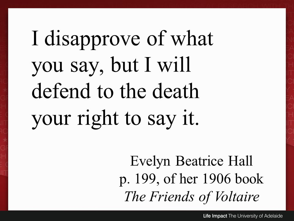 p. 199, of her 1906 book The Friends of Voltaire