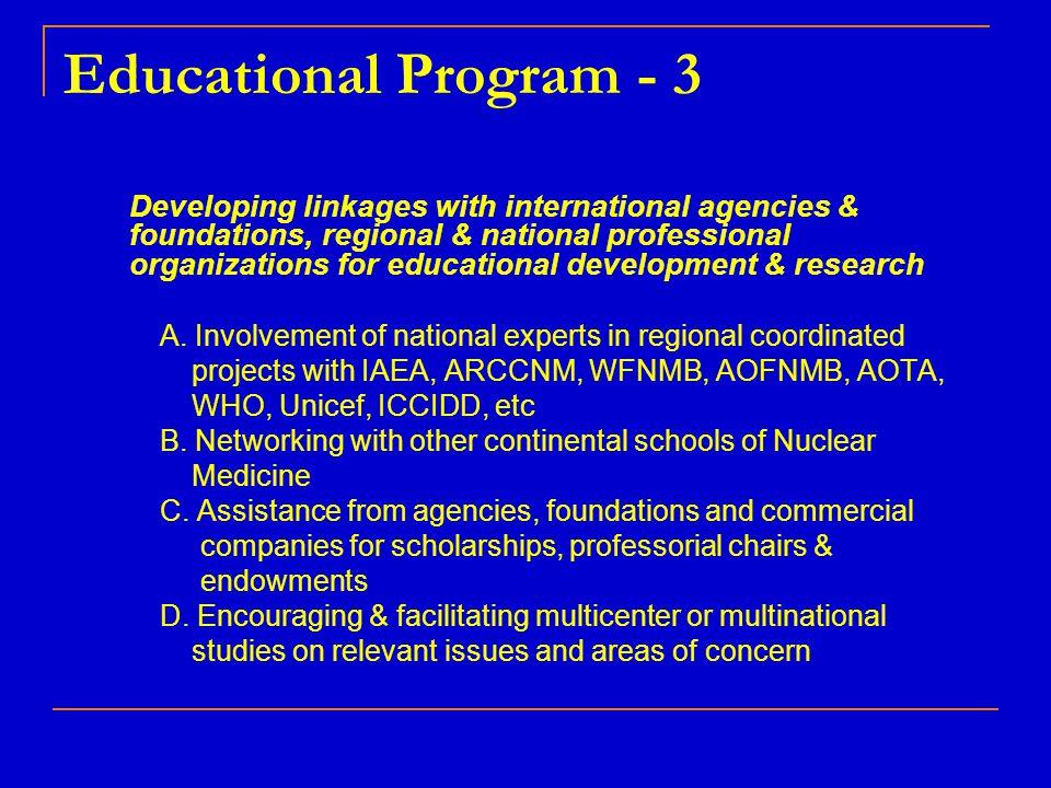 Educational Program - 3