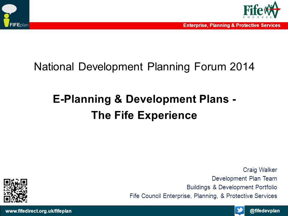 E-Planning & Development Plans -