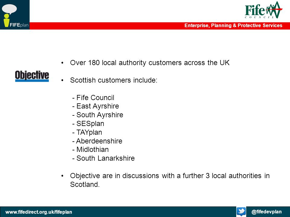 Over 180 local authority customers across the UK