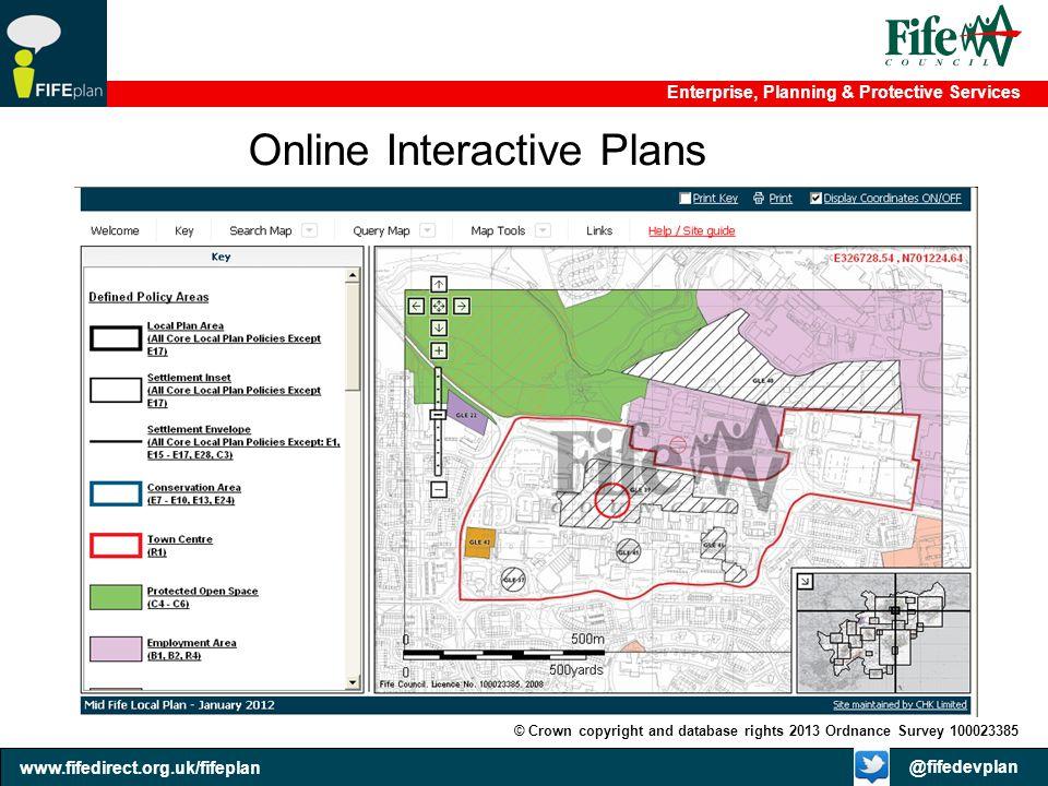 Online Interactive Plans