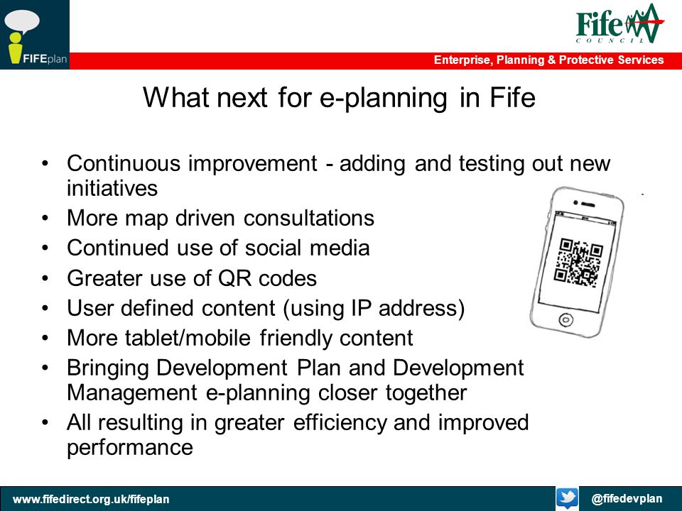 What next for e-planning in Fife