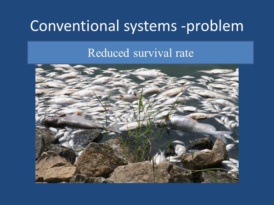 Conventional systems -problem