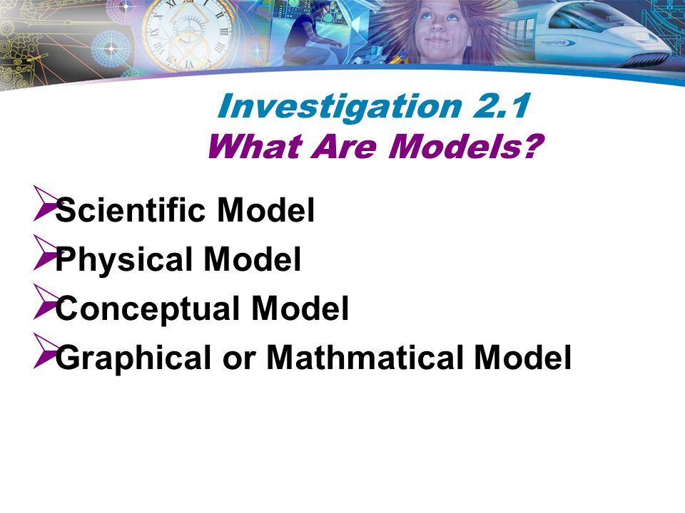 Investigation 2.1 What Are Models