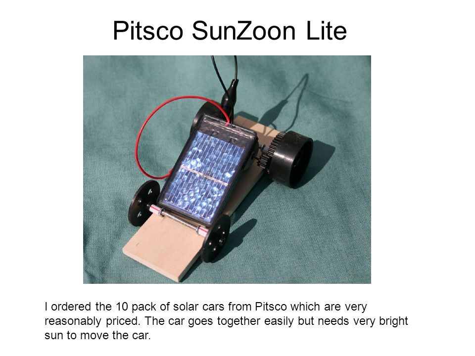 Pitsco SunZoon Lite