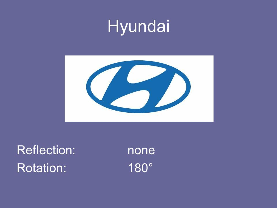 Hyundai Reflection: none Rotation: 180°