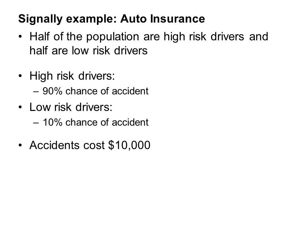 Signally example: Auto Insurance