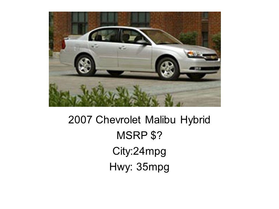 2007 Chevrolet Malibu Hybrid