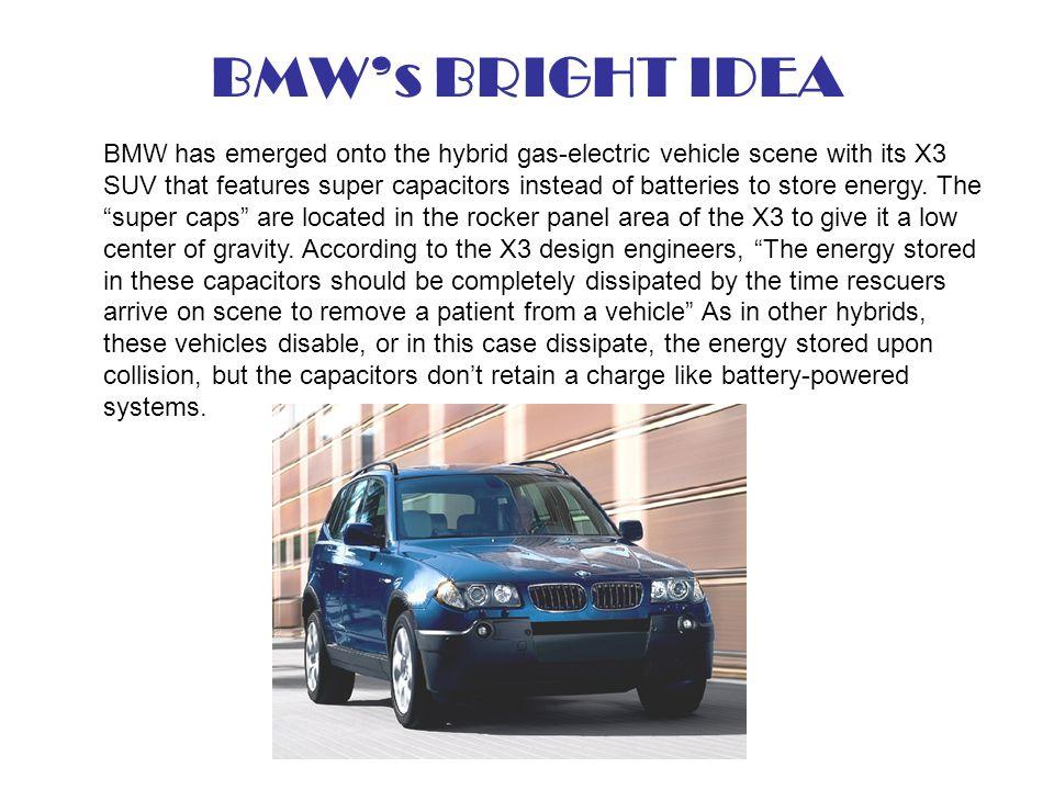 BMW's BRIGHT IDEA
