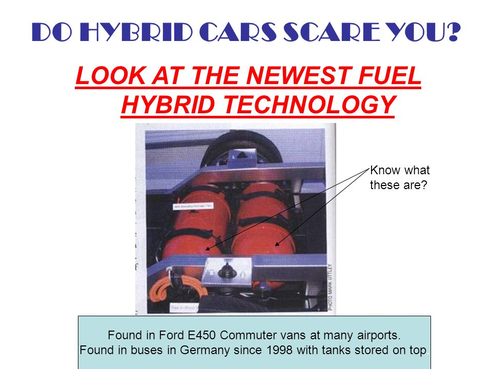 DO HYBRID CARS SCARE YOU