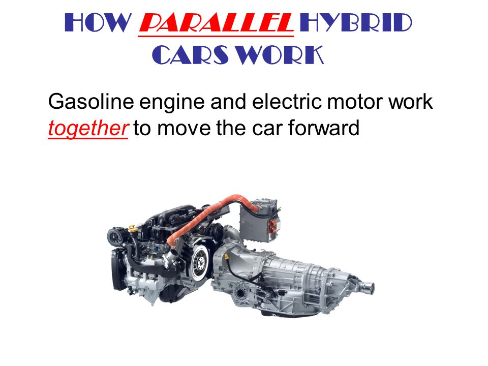 HOW PARALLEL HYBRID CARS WORK