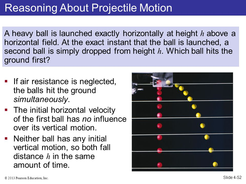 Reasoning About Projectile Motion