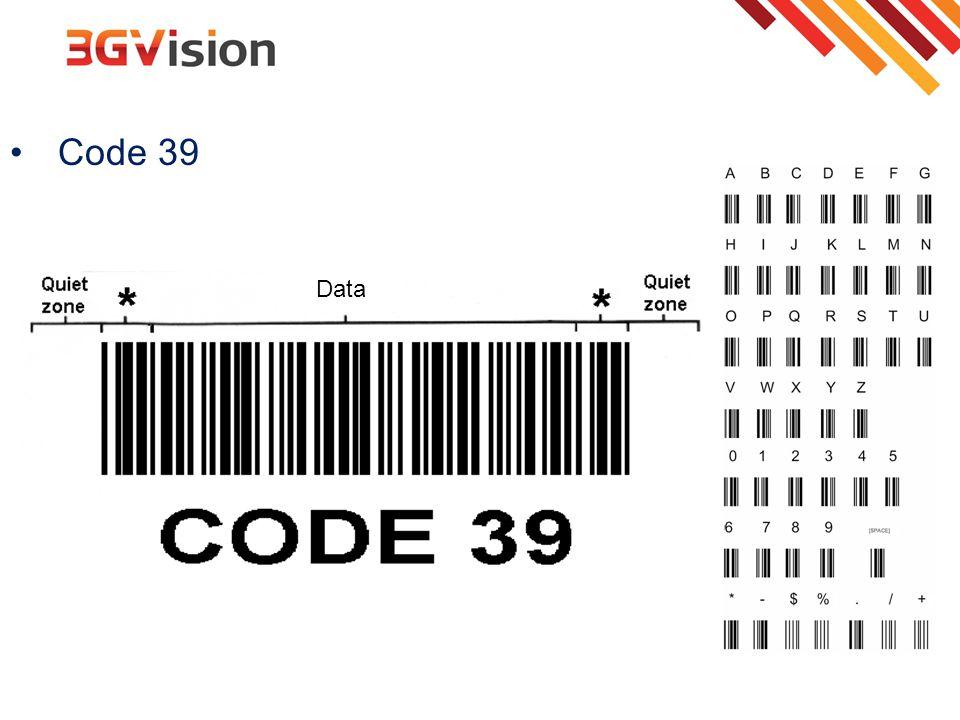 Code 39 Data