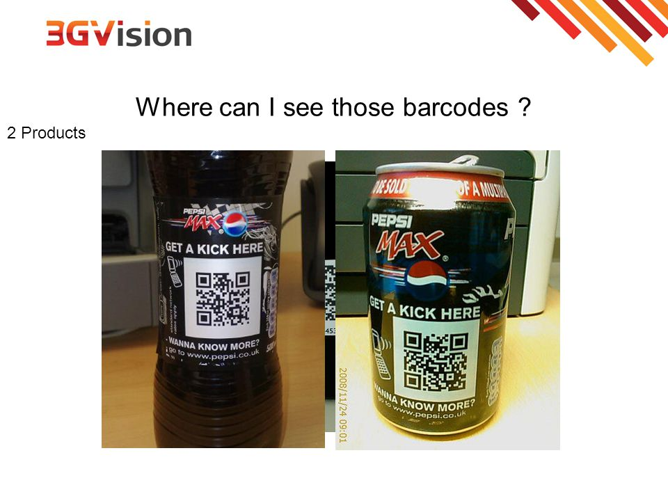 Where can I see those barcodes