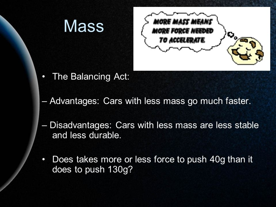 Mass The Balancing Act: