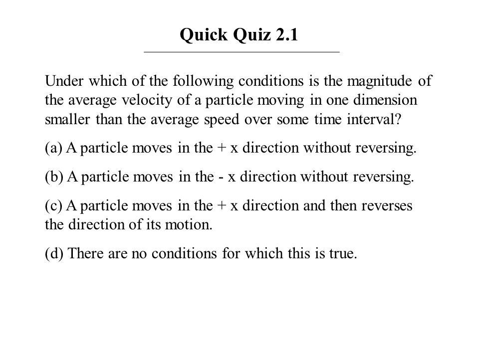 Quick Quiz 2.1
