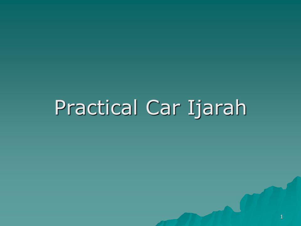 Practical Car Ijarah